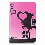 Hearts Pattern Card Holder Wallet with Stand Flip Magnetic PU Leather Case for Samsung GALAXY Tab E 9.6 T560 T561 9.6 inch Tablet PC