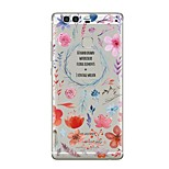 Case For Huawei P9 P10 Transparent Pattern Back Cover Transparent Flower Soft TPU for Huawei P10 Plus Huawei P10 Lite Huawei P10 Huawei