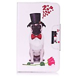 Dog Pattern Card Holder Wallet with Stand Flip Magnetic PU Leather Case for Samsung Galaxy Tab E 8.0 T377 T377V 8.0 inch Tablet PC