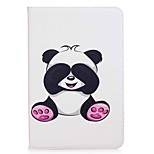 Panda Pattern Card Holder Wallet with Stand Flip Magnetic PU Leather Case for Samsung Galaxy Tab A 8.0 T350 T355 8.0 inch Tablet PC