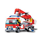 Building Blocks Fire Engine Vehicle Toys Vehicles Boys 244 Pieces