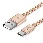 TAFIQ USB 2.0 Connect Cable USB 2.0 to USB 2.0 Type C Connect Cable Male - Male 0.25m(0.8Ft)