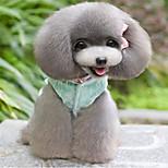 Hund Weste Hundekleidung Lässig/Alltäglich Prinzessin Gelb Blau Kostüm Für Haustiere
