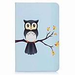 сова шаблон держатель карты кошелек с подставкой флип магнитный кожаный чехол pu для Samsung Galaxy Tab e 9.6 t560 t561 9,6-дюймовый