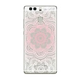 For Case Cover Transparent Pattern Back Cover Case Mandala Transparent Soft TPU for Huawei Huawei P10 Plus Huawei P10 Lite Huawei P10