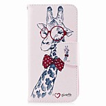 Case For V30 Q6 Card Holder Wallet with Stand Flip Magnetic Pattern Full Body Animal Hard PU Leather for LG Q6 LG V30