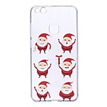 Case For Huawei P10 Lite P10 Transparent Pattern Back Cover Cartoon Christmas Soft TPU for Huawei P10 Lite Huawei P10 Huawei P8 Lite