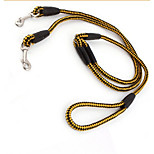 Dog Leashes Portable Color Block Nylon