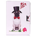 Dog Pattern Card Holder Wallet with Stand Flip Magnetic PU Leather Case for Samsung GALAXY Tab A 9.7 T550 T555 9.7 inch Tablet PC