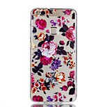 Case For Huawei P10 Lite P10 Transparent Pattern Back Cover Flower Soft TPU for Huawei P10 Lite Huawei P10 Huawei P9 Lite Huawei P8 Lite