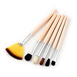 6pcs Makeup Brush Set Synthetic Hair Face