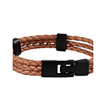 Men's Women's Leather Bracelet Sexy Personalized Leather Jewelry For Casual Date
