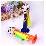 Недорогие -1шт три трубки аплодисменты рога футбол футбол рог участник карнавал спортивные игры ramdon цвет