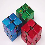 Rubik's Cube Smooth Speed Cube 2*2*2 Stress and Anxiety Relief Magic Cube Metal Alloy Gift