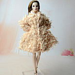 Shrugs Top For Barbie Doll Coat For Girl's Doll Toy