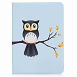 Owl Pattern Card Holder Wallet with Stand Flip Magnetic PU Leather Case for Samsung Galaxy Tab S2 T810 T815 9.7 inch Tablet PC