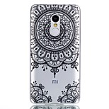 For Case Cover Pattern Back Cover Case Mandala Soft TPU for Xiaomi Xiaomi Redmi Note 4X Xiaomi Redmi Note 4