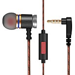 KZ ED In Ear Wired Headphones Dynamic Plastic Mobile Phone Earphone Noise-isolating with Microphone Headset