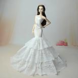 Dresses Hip Scarves Dresses For Barbie Doll Dress For Girl's Doll Toy