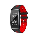 s13 0.96 pouces hommes smart bracelet sang oxygène / tension artérielle / fréquence cardiaque monito podomètres pour ios android