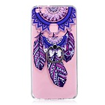 Case For Huawei P10 Lite Ring Holder Transparent Pattern Back Cover Dream Catcher Soft TPU for Huawei P10 Lite Huawei P8 Lite (2017)