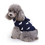 Dog Sweater Dog Clothes Acrylic Fibres Winter Spring/Fall Casual/Daily Hearts Costume For Pets