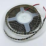 водонепроницаемая ip65 светодиодная лента 5m 600leds 3528smd гибкая светодиодная лента 120led / m светодиодная лампа светлая лампа белый