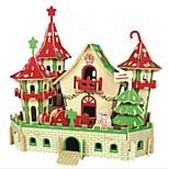 DIY KIT 3D Puzzles Jigsaw Puzzle Logic & Puzzle Toys Toys Castle Animals 3D Houses Fashion Kids Hot Sale Classic Fashion New Design Kids 1