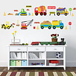 Транспорт Наклейки Простые наклейки Декоративные наклейки на стены материал Украшение дома Наклейка на стену