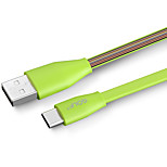 golf usb 2.0 to usb 2.0 type c connect cable male - male 0.5m (1.5ft) оба загружены