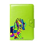 Universal Dog PU Leather Stand Cover Case For 7 Inch 8 Inch 9 Inch 10 Inch Tablet PC