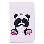Panda Pattern Card Holder Wallet with Stand Flip Magnetic PU Leather Case for Samsung Galaxy Tab A 7.0 T280 T285 7.0 inch Tablet PC
