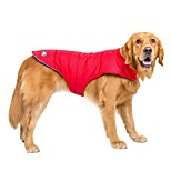 Dog Coat 14 Diamond Tip Vest Dog Clothes Casual/Daily Waterproof Keep Warm Sports Solid Orange Red Blue Costume For Pets