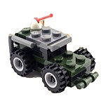 Building Blocks Toys Chariot Kids 1 Pieces
