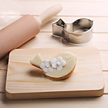 Pigeon Dove Bird Cookies Cutter Stainless Steel Biscuit Cake Mold Fondant Baking Tools