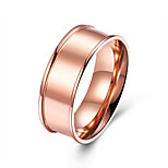 Men's Band Rings Jewelry Basic Fashion Stainless Steel Circle Jewelry For Party Engagement Daily Casual Office & Career