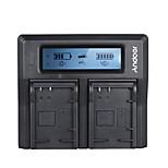 Andoer LP-E17 Dual Channel Digital Camera Battery Charger for Canon 750D/760D Rebel T6i/T6s EOS M3/M5/M6/800D/77D