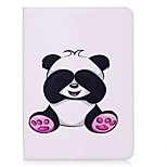 Panda Pattern Card Holder Wallet with Stand Flip Magnetic PU Leather Case for Samsung Galaxy Tab S2 T810 T815 9.7 inch Tablet PC
