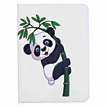 panda und bambus muster kartenhalter brieftasche mit stand flip magnetische pu ledertasche für samsung galaxy tab s3 wifi / lte t820 t825
