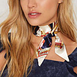 Women's Choker Necklaces Collar Necklace Flower Geometric Cloth Sexy Multi-ways Wear Jewelry For Daily Street