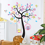 Animals Botanical Fashion Wall Stickers Plane Wall Stickers Decorative Wall Stickers,Plastic Material Home Decoration Wall Decal