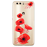For Case Cover Pattern Back Cover Case Flower Soft TPU for Huawei Huawei P10 Plus Huawei P10 Lite Huawei P10 Huawei P9 Huawei P9 Lite
