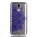 For Case Cover Pattern Back Cover Case Mandala Soft TPU for LG LG K10 (2017) LG K8 (2017)