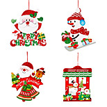 2pcs Christmas Decorations Wreaths & GarlandsForHoliday Decorations 36