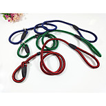 Dog Leash Portable Solid Nylon Grid