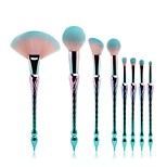 8PCS Contour Brush Makeup Brush Set Blush Brush Eyeshadow Brush Brow Brush Concealer Brush Fan Brush Powder Brush Foundation Brush Pony
