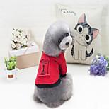 Hund Pullover Hundekleidung Stilvoll Solide Rot Schwarz Kostüm Für Haustiere