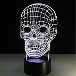 1set Décorative Couleurs changeantes Lumière décorative LED Night Light Lumières USB-3W-Batterie USB