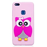Case For Huawei P10 Lite P10 Pattern DIY Back Cover 3D Cartoon Owl Soft TPU for Huawei P10 Lite Huawei P10 Huawei P8 Lite (2017)