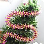 Недорогие -1шт Рождество Рождественские украшения, Праздничные украшения 10*200